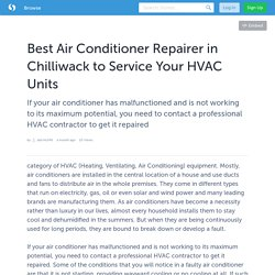 Find Air Conditioner Repairer in Chilliwack