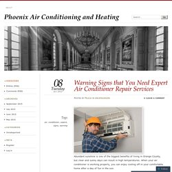 Warning Signs that You Need Expert Air Conditioner Repair Services