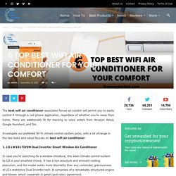 6 TOP BEST WIFI AIR CONDITIONER FOR YOUR COMFORT - Freewaytechno