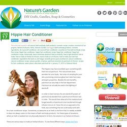 Hippie Hair Conditioner - Natures Garden Fragrance Oils