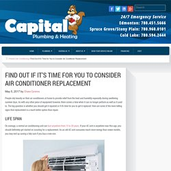 Find Out if it's Time for You to Consider Air Conditioner Replacement