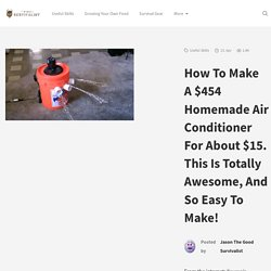 How To Make A $454 Homemade Air Conditioner For About $15. This Is Totally Awesome, And So Easy To Make! - The Good Survivalist