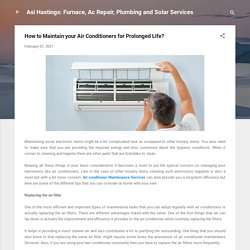 How to Maintain your Air Conditioners for Prolonged Life?