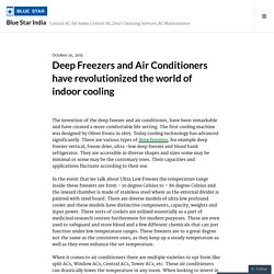Deep Freezers and Air Conditioners have revolutionized the world of indoor cooling