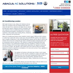 Air Conditioning London, UK | Air Conditioning Installation