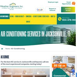 Air Conditioning Services in Jacksonville, FL