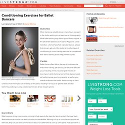 Conditioning Exercises For Ballet Dancers