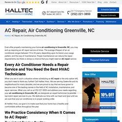 AC Repair in Greenville, NC
