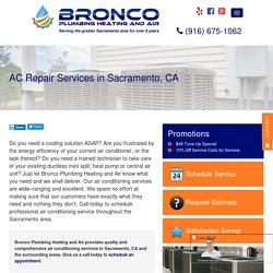 Air Conditioning Services in Sacramento, CA