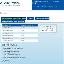 Aircon Service- Glory-Tech