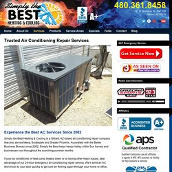 What Makes a best Air Conditioning Repair Service