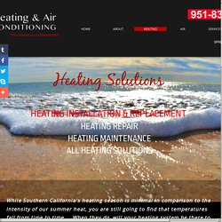 Heating MC Heating and Air Conditioning Southern CA Counties