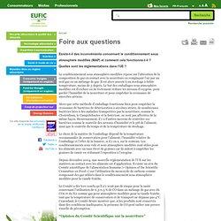 EUFIC - Existe-t-il des inconvénients concernant le conditionnement sous atmosphère modifiée (MAP) et comment cela fonctionne-t-