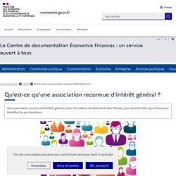 CEDEF - Quelles sont les conditions pour qu'une association soit reconnue d'intérêt général
