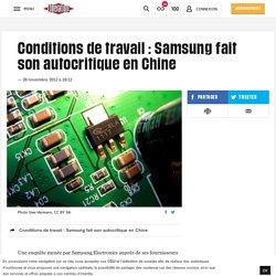 Conditions de travail : Samsung fait son autocritique en Chine