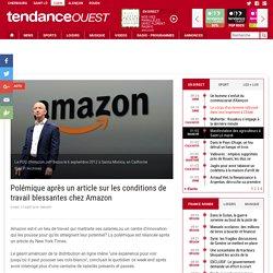 Polémique après un article sur les conditions de travail blessantes chez Amazon