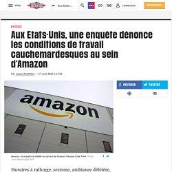 (20+) Aux Etats-Unis, une enquête dénonce les conditions de travail cauchemardesques au sein d'Amazon