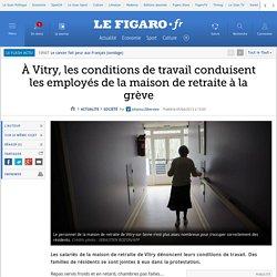À Vitry, les conditions de travail conduisent les employés de la maison de retraite à la grève