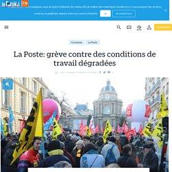 La Poste: grève contre des conditions de travail dégradées - Le Parisien