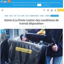 Grève à La Poste contre «les conditions de travail dégradées» - Le Parisien