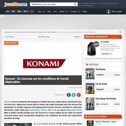 Konami : Du nouveau sur les conditions de travail déplorables - Actualités