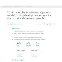 Prologis Logistics Rent Index