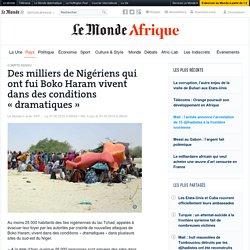 Des milliers de Nigériens qui ont fui Boko Haram vivent dans des conditions «dramatiques»
