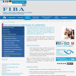 Améliorer les conditions de travail d'une entreprise - FIBA