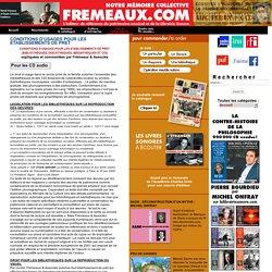 Fr meaux & Associ s diteur , La Librairie Sonore - CONDITIONS D USAGES POUR LES ETABLISSEMENTS DE PRET