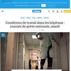 Conditions de travail dans les hôpitaux : journée de grève nationale, mardi - Le Parisien