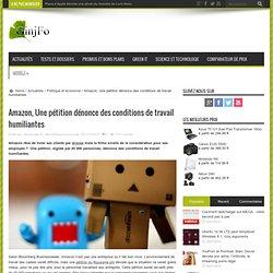 Amazon, Une pétition dénonce des conditions de travail humiliantes