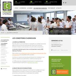 COPB – Collège d'Ostéopathie du Pays-Basque
