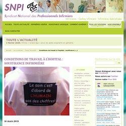 Syndicat national des professionnels infirmiers (SNPI-CFE-CGC)
