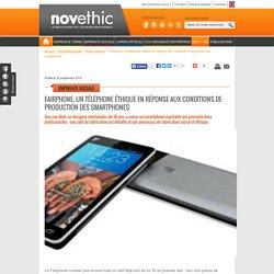 Fairphone, un téléphone éthique en réponse aux conditions de production des smartphones