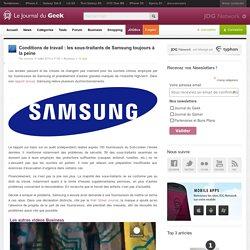 Conditions de travail : les sous-traitants de Samsung toujours à la peine