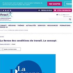 La Revue des conditions de travail / Anact, janvier 2021