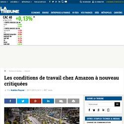 Les conditions de travail chez Amazon à nouveau critiquées