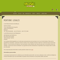 Conditions d'utilisation de la musique libre de droit