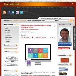 Zeetings: condividere e rendere interattive le proprie presentazioni nel web