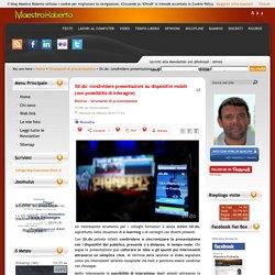Sli.do: condividere presentazioni su dispositivi mobili (con possibilità di interagire)