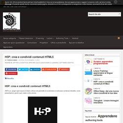 H5P: crea e condividi contenuti HTML5