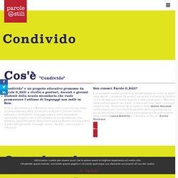 Condivido - Il progetto di Parole O_stili per le scuole