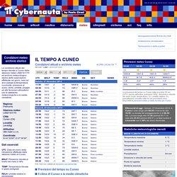 Condizioni del tempo a Cuneo, meteo attuale e archivio storico - il Cybernauta