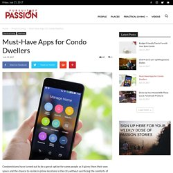 Must-Have Apps for Condo Dwellers - Pursuit of Passion