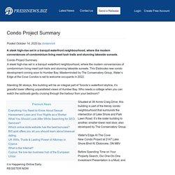 Condo Project Summary