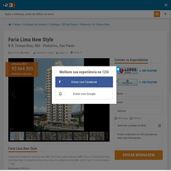 Condomínio Edifício Faria Lima New Style - R. Fernao Dias, 400 - Pinheiros