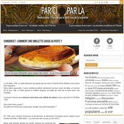 Condorcet : Comment une Omelette causa sa perte ? ⚛ PCPL