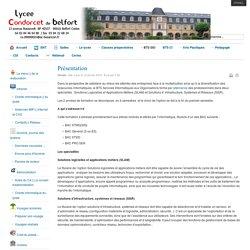 Lycée Condorcet Belfort - Présentation générale