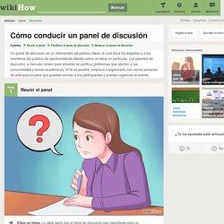 Cómo conducir un panel de discusión: 20 pasos