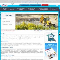 Conducteur d'engins de chantier / Bâtiments et travaux publics / Les métiers / Formation pro / Accueil - ECF